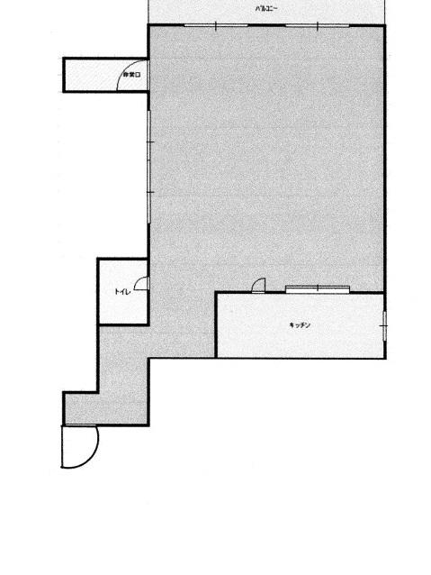 ツインビル1階平面図