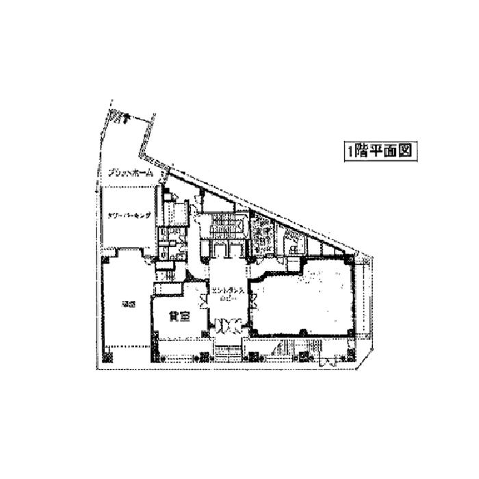 東桜1 成田栄ビル 平面図