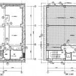 フカヤビル2階・地下1階平面図 大井町