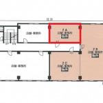 東泉ビル 2階平面図