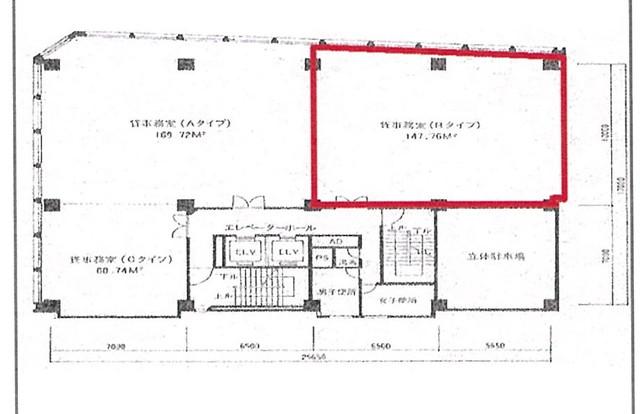 Z'sビル(ジーズビル):2階44.47坪(外観)