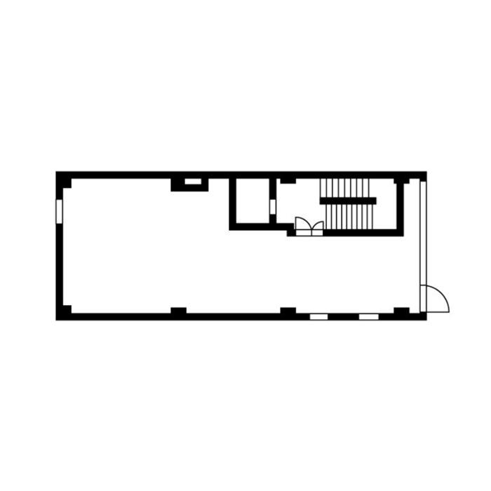 錦3 パークウェストビル 平面図