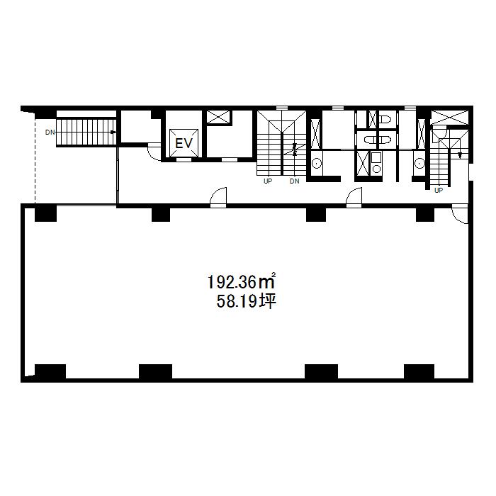 栄3 岡地ビル 平面図