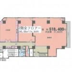富士見町SKビル2階間取図