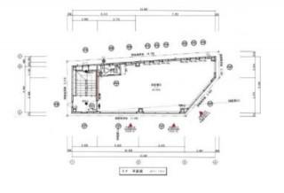葵一丁目新築店舗3階平面図