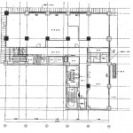 矢場町中駒ビル1階平面図