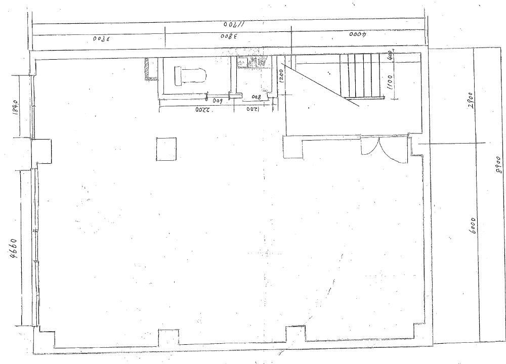 児玉ビル地下1階図面