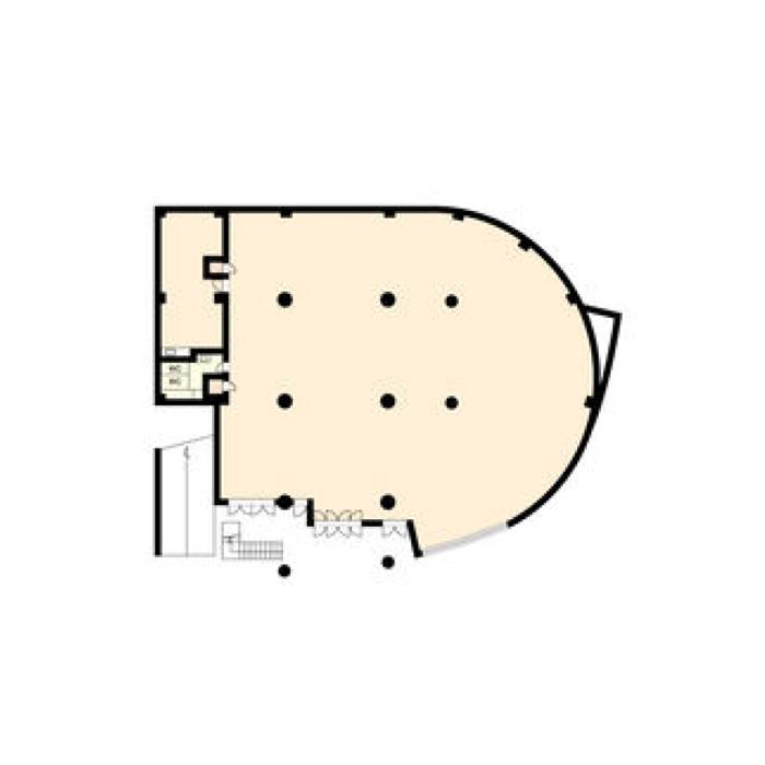 山手通1 ユース山手館 平面図