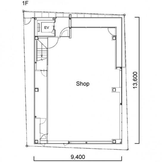 平面図 1階