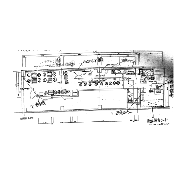 名駅南1 第3森ビル 平面図