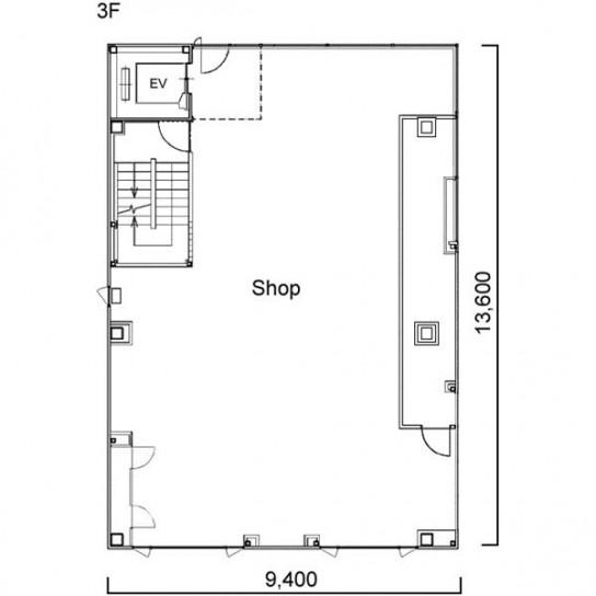 平面図 3階