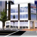 【葵一丁目新築3階店舗:16.15坪】地下鉄東山線「新栄町」駅徒歩1分!飲食可能な新築物件の1階路面店舗です。