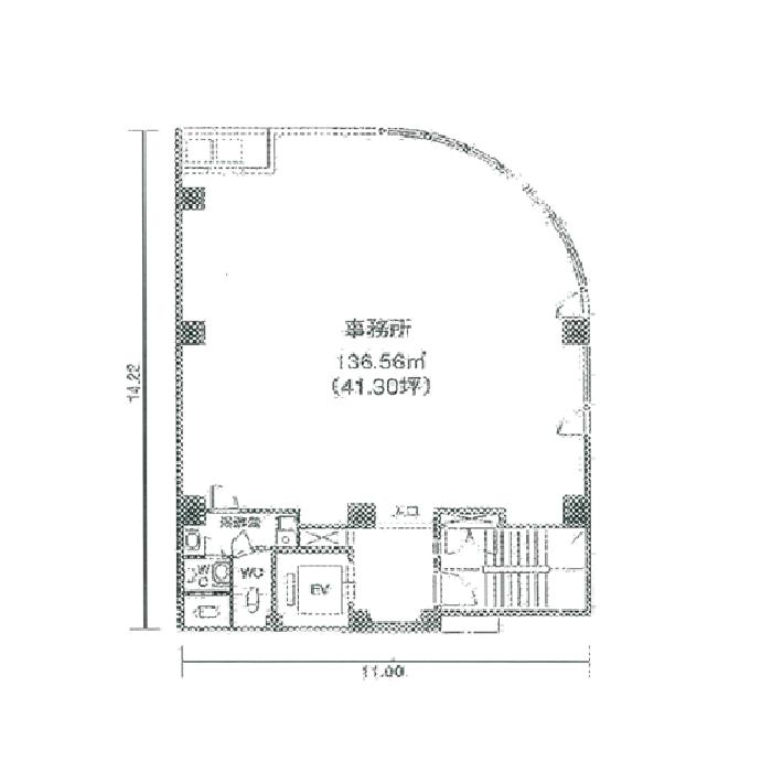 栄2 セントラル広小路ビル 平面図