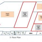 中央広小路ビル3階区画図