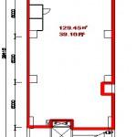 DK丸の内ビル地下1階平面図