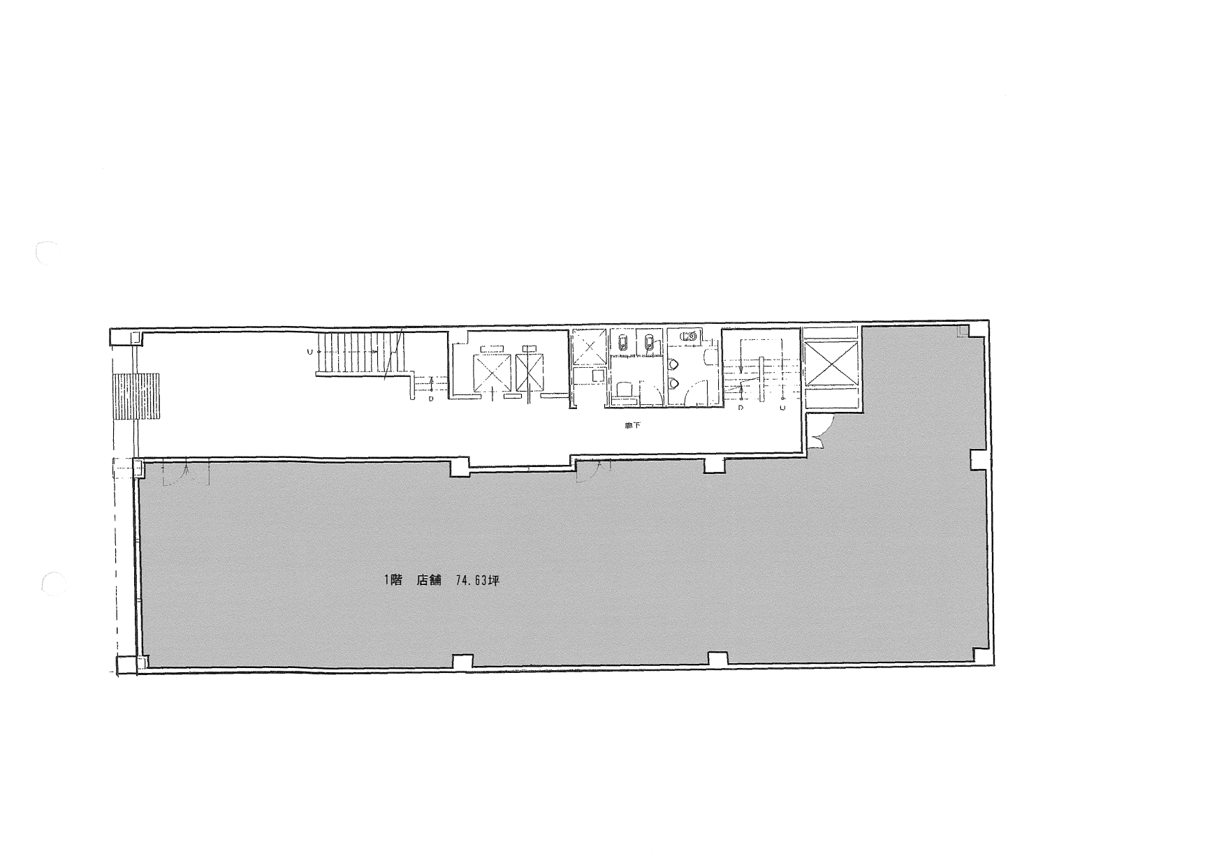 丸の内3 名古屋有楽ビル 平面図