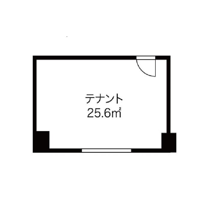 錦3 錦HOTEIビル 平面図