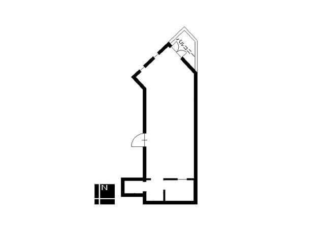 クレスト徳川ビル4階東間取り図