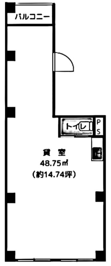 SHビル 1F(間取)