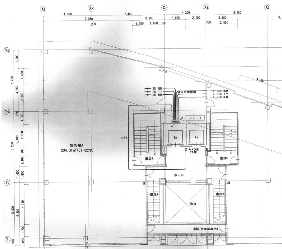 名駅3 サン・タウン名駅三丁目ビル 平面図