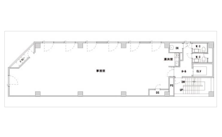 ユース栄宮地ビル 図面