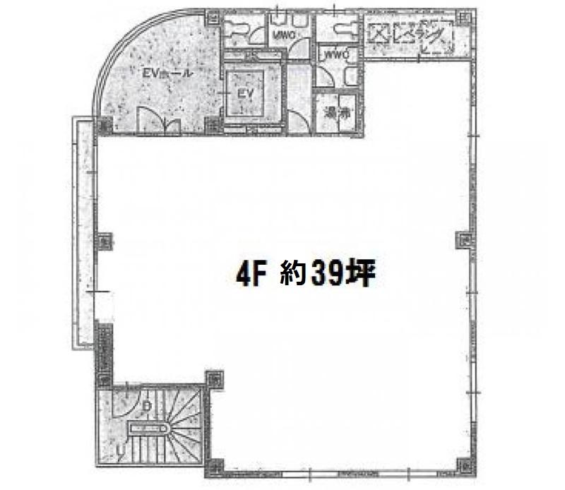 瑞穂ビル4階 図面
