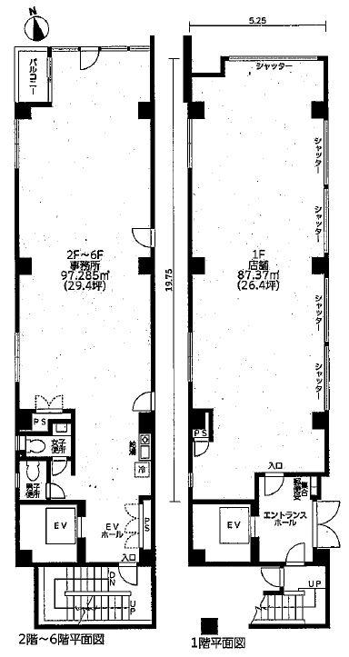 第17金山フクマルビル 図面