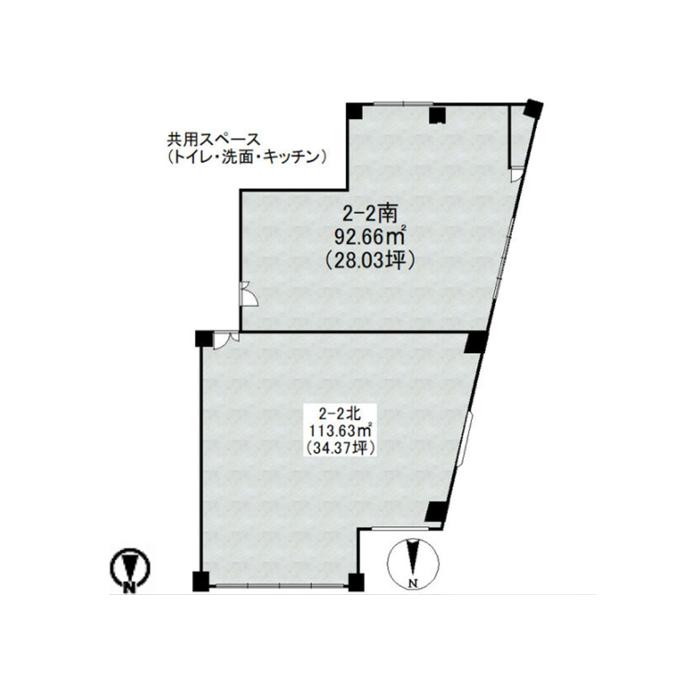 新栄2 イノフィス 平面図