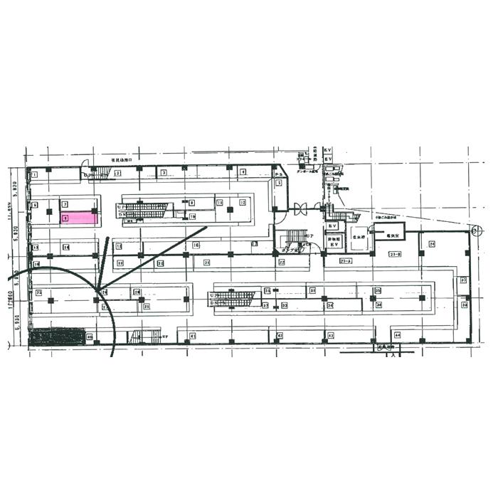 大須3 大須第1アメ横ビル 間取図