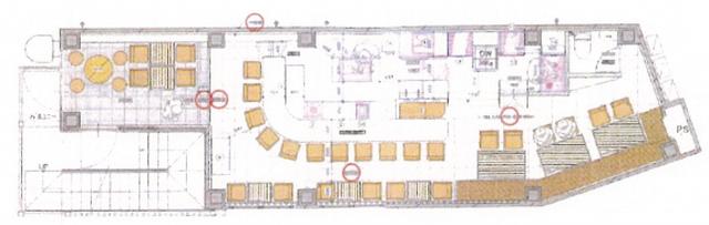 名駅4 m5ビル 2階平面図