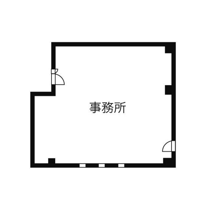 椿町 ロータスビル 平面図