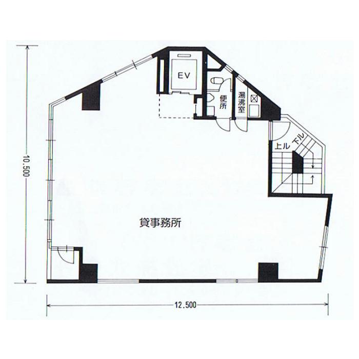 第二赤林ビル3階図面