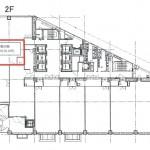 名古屋クロスコートタワー2階間取り図