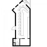 クレスト徳川ビル3階東間取り図