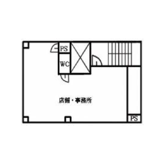 東桜1 ビルフレンズ 平面図