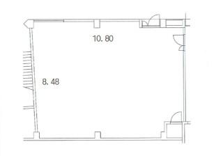 アンドール大須1階E号室平面図