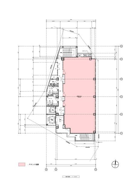 【NFC(日東エフシー)金山駅前ビル:7階68.24坪】地下鉄名城線・名港線・JR線・名鉄線「金山」駅から徒歩2分!アスナル金山向いの医療モールのご案内です!新築です!