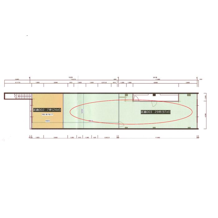 栄3 LRDビル 平面図