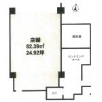 【レジデンシア名駅南1階24.92坪】大須通沿いの視認性の良い物件です。内装費用一部補助あり!スタートアップの事業にお勧めです。
