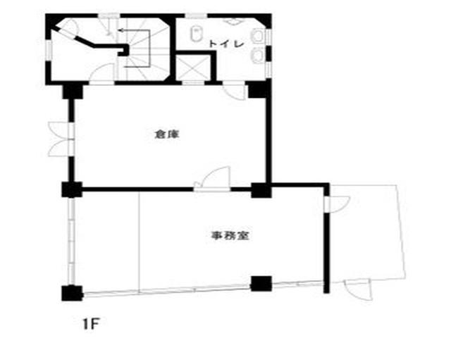 塩付通4丁目店舗(間取)