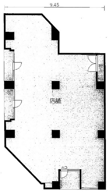 丸の内2 丸の内オフィスフォーラム 平面図