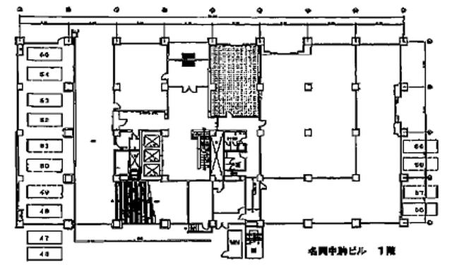 名興中駒ビル(間取)