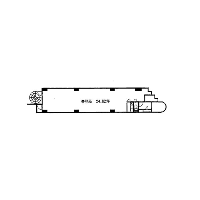 栄3 トクサンビル 平面図