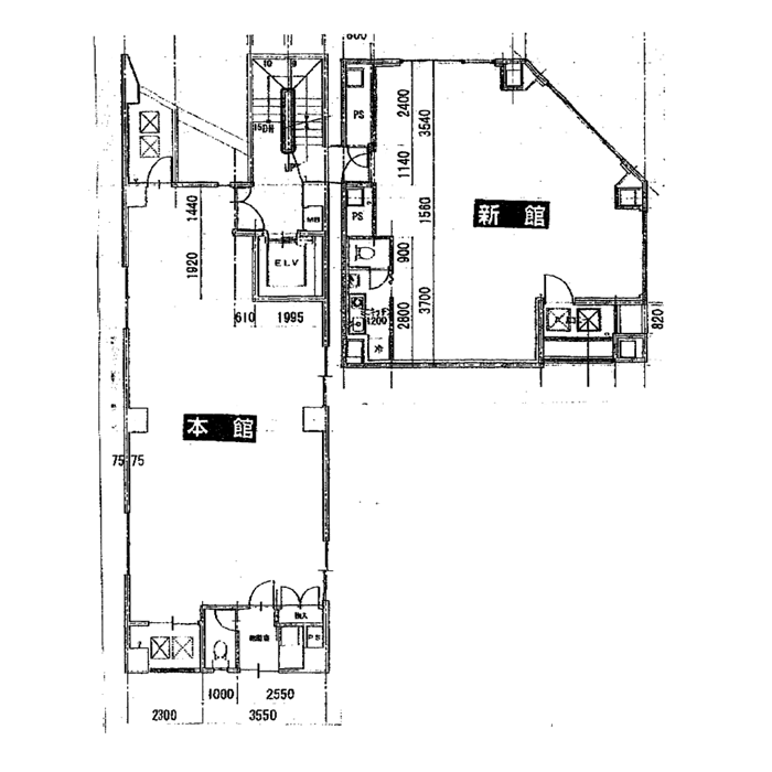 丸の内3 秀光堂ビル 平面図