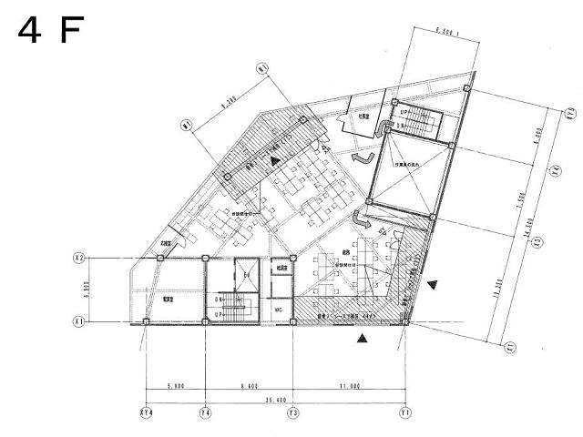 東別院三番出口ビル平面図
