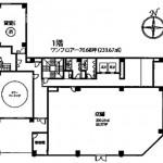 MS桜通りビル1階間取図