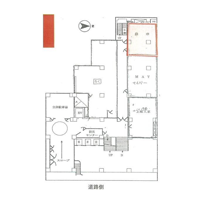 錦3 たての街 平面図