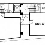 サンプレー名古屋ビル1階間取り図