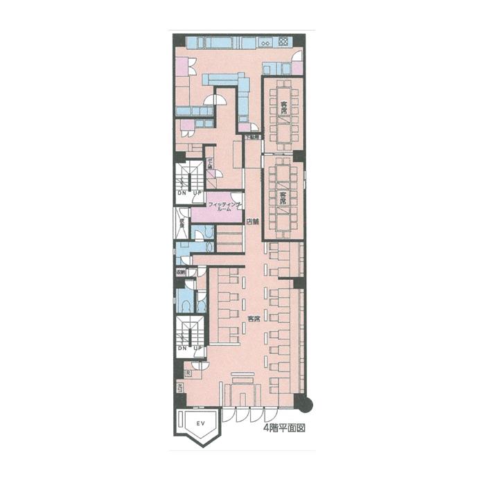 金山4 金山COSMO BUILDⅡ 平面図