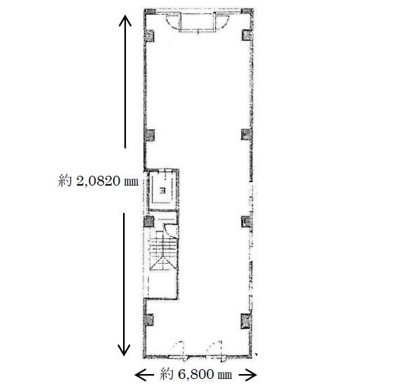 大丸ビル4階平面図